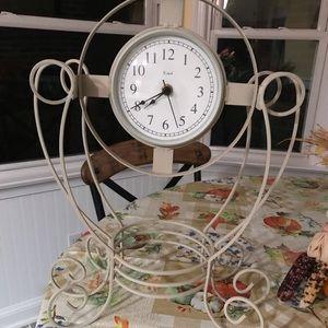 Scrollwork Clock
